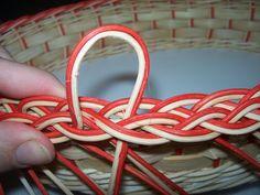 NÁVODY | COP - UKONČENÍ VEN Z KOŠE | pedig, dýnka, korálky, ubrousky,koše, kurzy, fotonávody 3d Paper, Baskets, How To Make, Hampers, Basket, Bag, Basket Weaving, Wicker