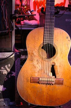 """Willie Nelson's famous guitar, """"Trigger"""""""