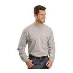 Carhart Long Sleeve Pocket Work Shirt