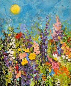 Art Inspo, Sunshine, Paintings, Hot, Floral, Happy, Flowers, Summer, Instagram