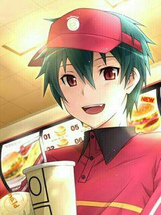 Browse hataraku maou-sama Sadao Mao The Devil Is a Part-Timer! collected by Reimhar Angeles and make your own Anime album. Anime Boys, Manga Anime, Anime Art, Anime Child, Otaku Anime, I Love Anime, Awesome Anime, All Anime, Me Me Me Anime
