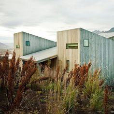 Today is Icelandic Independence Day and we're celebrating by revisiting some of the country's best architecture and design projects on Dezeen! First up is this wooden cabin in Iceland by Reykjavik studio Arkís, which is split into asymmetric apartments with roofs that slope in alternate directions. See more Icelandic projects on dezeen.com/tag/iceland #architecture #design #Iceland