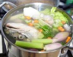 Pescados - La Cocina de Bea Lamb Stock Recipe, Fish Stock Recipe, Fish Broth Recipe, Fish Recipes, Seafood Recipes, Soup Recipes, Cooking Recipes, Yummy Recipes, Crockpot Recipes