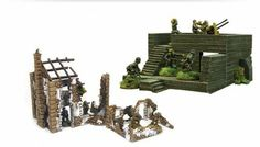What's In The Box: Blasted Up Bolt Action Terrain!