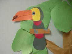 Toucan Craft rainforest project