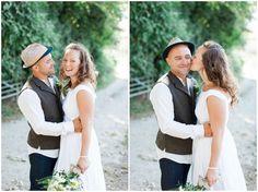 Farbridge Barn Wedding, wild flowers, natural bride, groom in jeans, cotton wedding dress, boho, www.camillaarnholdphotography.com