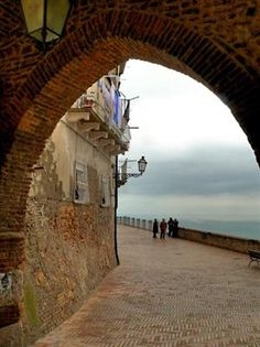 Vasto, Italy. It is a small town off the coast of the Adriatic. Beautiful place!