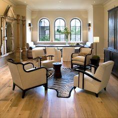 Robin Rains Interior Design Seating Areas