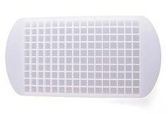 Silikon Eiswürfelform von Ms. Hot & Mr. Cool - flexible Silikonform für 160 Mini-Eiswürfelschale - Pralinenform - Sektkühler aus Eis: Amazon.de: Küche & Haushalt