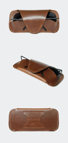http://www.vanchada.com กระเป๋าหนังแท้ Glasses Case