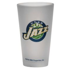 Utah Jazz Frosted Pint Glass - $9.99