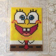 SpongeBob perler beads by i.am.cassie.lynn