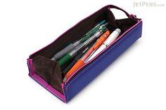 Kokuyo C2 Tray Type Pencil Case - Slim - Purple - KOKUYO F-VBF140-6
