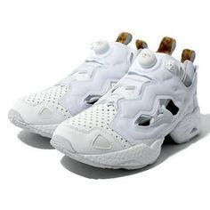 ATMOS × REEBOK INSTA PUMP FURY WHITE LEOPARD #sneaker