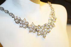 Vintage Jewelry Rhinestone Bogoff Jewelry by RomantiqueTouch, $90.00