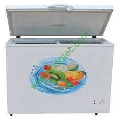 ce and saso approval solid door top open chest freezer