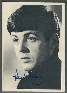 Paul I still have this Beatle card...