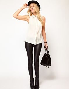 $31.66 Oasis Matte And Shine Leggings http://studentrate.com/studentrate/itp/get-itp-student-deals/ASOS-Student-Discount--/0