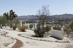 On a barren hillside in the Yucca Valley, the slowly decaying Desert Christ Park has attracted pilgrims and kitsch hunters for over 50 years