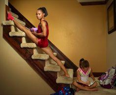 Breakfast at home- U.S. Olympic gymnast Gabby Douglas