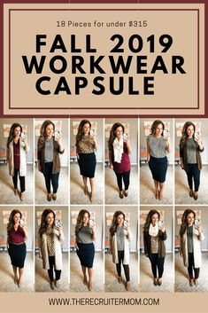 Fall 2019 target business casual capsule wardrobe pieces for under. Business Casual Outfits For Work, Fall Outfits For Work, Casual Fall Outfits, Work Casual, Dinner Outfits, Casual Dinner, Edgy Outfits, Business Attire, Fashion Clothes