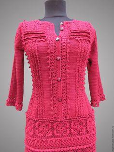 Купить Лекси с рукавами - бордовый, однотонный, платье, Платье нарядное, платье вязаное, платье коктейльное