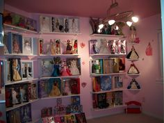 Ideas for my barbie room...