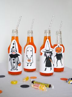 Mer Mag - Printable Halloween Party Pack