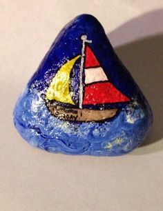 Sail away on the one day hand painted acrylic