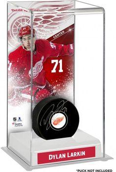 pretty nice 3887b 922f4 Dylan Larkin Detroit Red Wings Deluxe Tall Hockey Puck Case