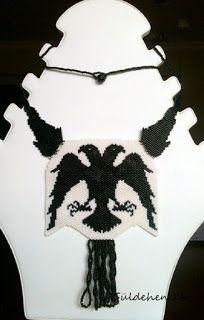 Çift Başlı Selçuklu Kartalı / The Double-Headed Eagle of The Seljuk Double Headed Eagle, Crochet Necklace, Handmade Jewelry, Sultan, Accessories, Handmade Jewellery, Jewellery Making, Diy Jewelry, Craft Jewelry