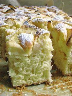 Polish Desserts, Polish Recipes, Cookie Desserts, Apple Cake Recipes, Baking Recipes, Dessert Recipes, Kolaci I Torte, Sweets Cake, Food Cakes