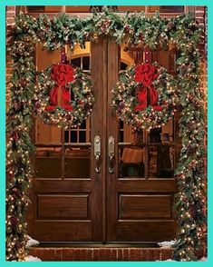[Christmas Wreaths] Christmas Wreaths To Celebrate The Holiday Cheer >>> Visit the image link for more details. #ChristmasWreaths