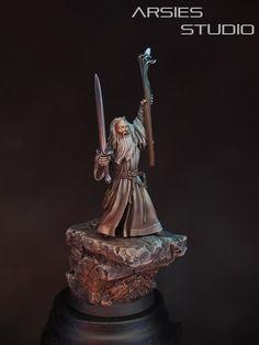 Gandalf the Grey #lotr #lord #rings #lordoftherings #gamesworkshop #wizard #gandalf #fellowship #wellofeternity #miniatures #wargaming #hobby