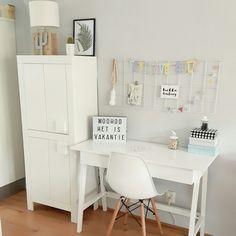Office Desk, Sweet Home, Furniture, Home Decor, Desk, Homemade Home Decor, House Beautiful, Home Furnishings, Decoration Home