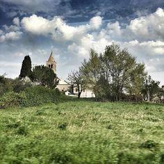 Wunderschön, unsere #Reise durch die Eugenischen Hügel zwischen #Padua und #Venedig. Die kleine #toscana trifft es  #ig_italia #ig_europe #igtravel #travel #trip #sky #clouds #italy