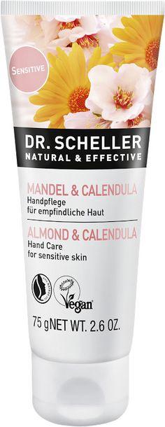 Dr. Scheller Krema za roke mandelj in ognjič - 75 ml