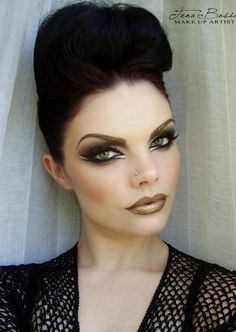 Tena Bašić Mskeup Artist  Glamour make up...I WOULDN'T MIND @ ALL IF THIS IS WHAT I LOOKED LIKE AFTER GETTING READY FOR THE DAY!!!