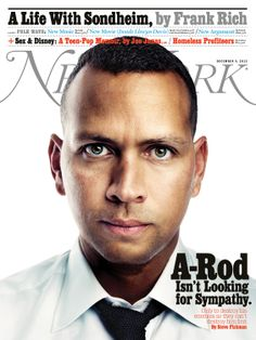 The December 9, 2013 cover featuring Alex Rodriguez. Photo: Marco Grob