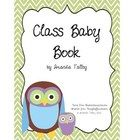 Baby book made by the students for a teacher on maternity leave Teacher Gifts From Class, Teacher Stuff, Baby Shower Gifts, Baby Gifts, Baby L, Teacher Notebook, Pregnancy Gifts, Kindergarten Teachers, Baby Party