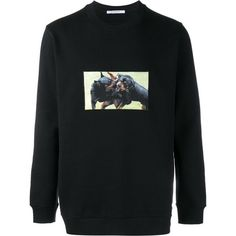 Givenchy Givenchy Rottweiler Print Sweatshirt (13.990 ARS) ❤ liked on Polyvore featuring men's fashion, men's clothing, men's hoodies, men's sweatshirts and givenchy