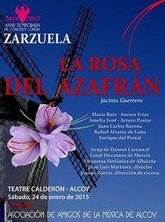 Zarzuela en Alcoiy, Teatro Calderon  Consulta en Masia La Mota la oferta que incluye alojamiento y entrada al teatro.