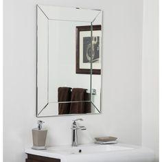 Found it at Wayfair - Avie Bathroom Wall Mirror