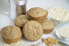Peanut Butter Banana Quinoa Muffins