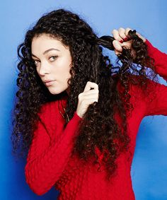 4 DIY Braided 'Dos For Curly Girls #refinery29  http://www.refinery29.com/curly-hair-braids