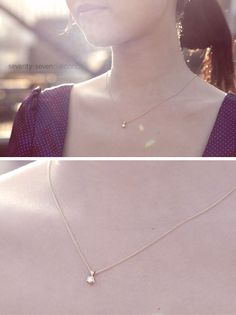 Pretty & simple necklace #77diamonds #jewellery