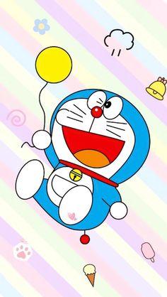 Kawaii Wallpaper, Cute Wallpaper Backgrounds, Iphone Wallpaper, Doraemon Wallpapers, Funny Wallpapers, Cartoon Drawings, Cute Drawings, Doraemon Cartoon, Cute Art