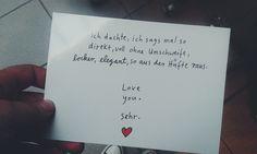 #Liebesbrief
