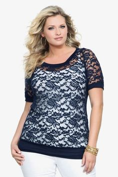 Affordable plus size trendy clothing for stylish overweight women |