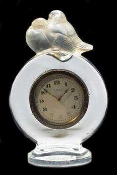 Pierrots, Rene Lalique clocks